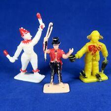 Maysun 1950s Circus Figures Ringmaster & Clowns Vintage Hong Kong Toys