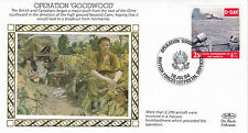 1994 WW2 50th ANNIVERSARY OPERATION GOODWOOD BENHAM SILK COVER SHS