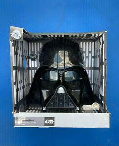 Darth Vader Voice Changing Talking Mask Helmet Disney Store Star Wars 2014 NEW!