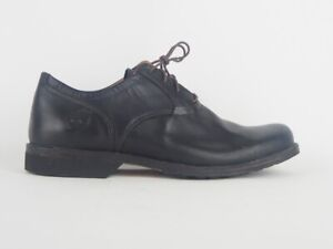Mens Timberland Earthkeepers City Plain Oxford 84532 Black Leather Formal Shoes