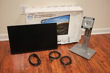 "Dell U2417HJ 24"" 16:9 IPS Monitor with Charging Stand Free Shipping"