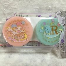 New Sanrio Little Twin Stars Kiki & Lala From Japan Contact lens case Free ship
