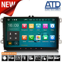 """9"""" Android 9.0 Car DAB GPS SatNav Radio For VW Transporter T5 T28 T30 T5.1 Caddy"""