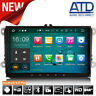"9"" Android 9.0 Car DAB GPS SatNav Radio For VW Transporter T5 T28 T30 T5.1 Caddy"