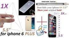 iphone 6 PLUS ULTRA Crystal Clear case Cover transparent soft silicone TPU Etui