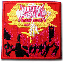 Nuclear Assault Patch Iron on Music Thrash Metal Anthrax SOD Overkill  Whiplash