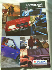 Suzuki Vitara range brochure Aug 1997