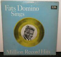 FATS DOMINO SINGS MILLION RECORD HITS (VG) LP-12103 LP VINYL RECORD