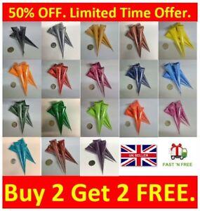XL 40ml Acrylic Henna Paint Cones Mehndi Candles Canvas Handmade Gifts Art Work
