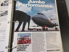 Ingersoll-Rand Jet Airplane Literature