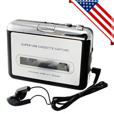 USA SHIP! USB Cassette Tape to MP3 iPod CD Converter Capture Audio Music Player