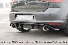 Rieger Heckeinsatz für Sportendrohr links/ rechts für VW Golf 7 GTI