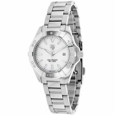 TAG Heuer Quartz (Battery) Silver Band Wristwatches
