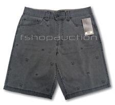 Oakley SPACE INVADER Shorts Size 32 Black Fade Mens Casual Denim Walkshort