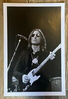 LARGE John Lennon New York 1974 12 x 18 concert photo  Beatles negative-10106