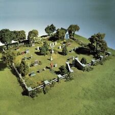 Woodland Scenics Cemetery S131*** HO Model Trains Accessories - *See Description