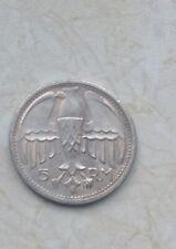 Drittes Reich 4 Medaillen Coin 5RM 1935