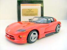 WESTERN MODELS 1/43 WP 125 1992 DODGE VIPER RED