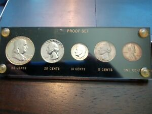 1956 proof set in capital casing