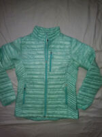🌄Patagonia Nano Puff Jacket Womens Size Small Mint Green Down🙂
