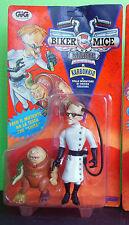 Biker Mice from Mars Dr. Karbonkio con Fred il mutante Nuovo e sigillato