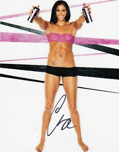 CANDACE PARKER AUTOGRAPH SIGNED 8X10 PHOTO ESPN BODY ISSUE NUDE LA SPARKS