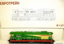 YM33 485 Diesellok CCCP H0 1:87 Eurotrain Moskau OVP 3000 NEU KF1  å