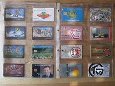 16 Phone Cards Sports Kec Deg TV Großwallstadt DTM Schumacher