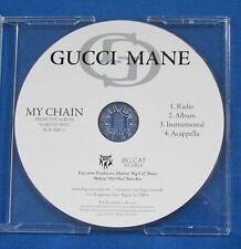 Gucci Mane My Chain CD Promo 4 Versions Instrumental Acappella Radio 2006