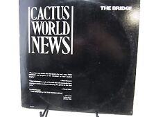 LP Record Single  Cactus World News The Bridge & Live Version self aid L33-17174