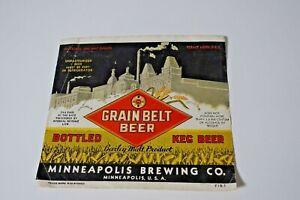 Grain Belt Beer - Half Gallon - Permit Minn U-812 IRTP
