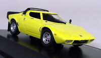 Atlas 1/43 Scale - Lancia Stratos Yellow Classic Sports car - Diecast Model Car