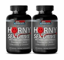 Bulgarian Tribulus Terrestris  - Horny Sex Drive 2170mg - With Ginseng Blend 2B