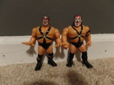 DEMOLITION AX SMASH wwf TAG TEAM wrestling HASBRO action figures BLUE CARD
