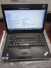 "Lenovo ThinkPad Edge 0578-F5U 14"" Laptop- Core i3-M370 2.40GHz 4GB 250GB LINUX"