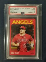 2019-20 Topps 582 Montgomery Set 1 #9 MIKE TROUT Angels PSA 9 Mint