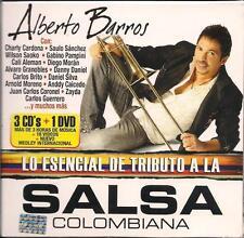 Alberto Barros Lo Esencial De Tributo Salsa CD NEW 3 Disc Set + DVD 35 Songs!