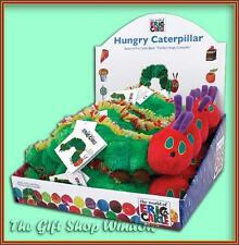 THE VERY HUNGRY CATERPILLAR SUPER SOFT PLUSH BEAN TOY SENSORY PLAY TOY / GIFT