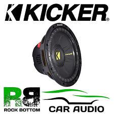 "Kicker 40CWD154 CompD 15"" inch DVC 1200 Watts Dual 4 Ohm Car Subwoofer Speaker"