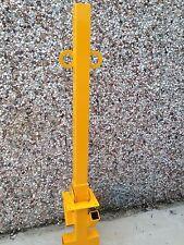 1 METRE! Tall Folding Security Post Parking Bollard