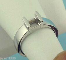 1CT PRINCESS CUT RING MOUNTING 14K WHITE GOLD FOR 5.5 MM x 5.5 MM DIAMOND