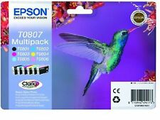 GENUNIE Epson T0807 Print ink cartridge T0801-T0806 Original for epson printer