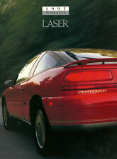 1993 Plymouth LASER Brochure/Catalog:RS,TURBO,AWD.4WD