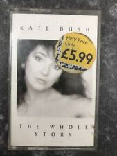 Original Cassette Album - Kate Bush - The Whole Story - EMI Records 1986