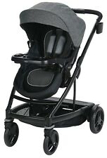 Graco Baby UNO2DUO One Hand Fold Reclining Seat Stroller 2018 Ellington NEW
