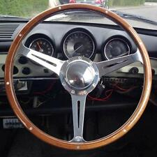 Steering Wheel Wood Rim for VW Beetle Ghia Type 3 Nardi Bug Notch Square AAC088