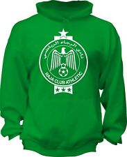 Raja Club Athletic Casablanca Morocco Hooded Sweatshirt Hoodie Hoody football