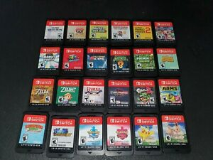 Nintendo Switch Games to Choose From (Or Blank Case)