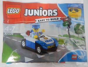 LEGO Juniors 30339 Traffic Light Patrol Set Polybag Satchel Police Car City NEW