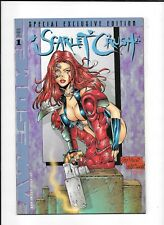 SCARLET CRUSH #1(e) ==> NM+ SPECIAL EXCLUSIVE EDITION AWESOME COMICS 1998